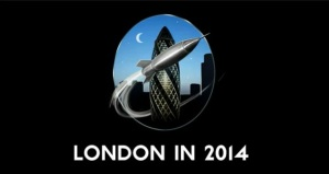 Worldcon London 2014 logo
